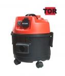 Профессиональный пылесос с розеткой TOR WL092A-15LPS PLAST