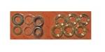 Рем. комплект уплотнений Ø20 NMT латунь, 3 порш. (260078 3 шт.)